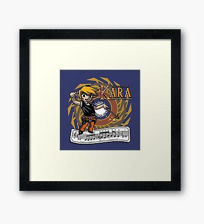 The Legend of Kara Framed Print