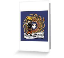 The Legend of Kara Greeting Card