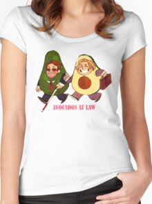 Avocados at law Women's Fitted Scoop T-Shirt