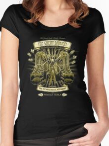 The Teslige Women's Fitted Scoop T-Shirt
