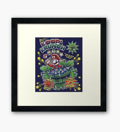 Koopa Krunch! Framed Print