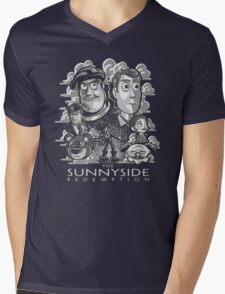 The Sunnyside Redemption Mens V-Neck T-Shirt
