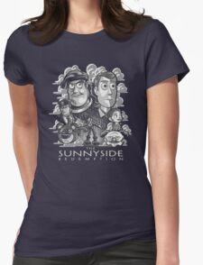 The Sunnyside Redemption Womens Fitted T-Shirt
