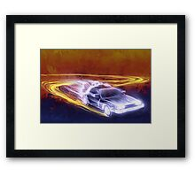 Acid Reflux Capacitor Framed Print