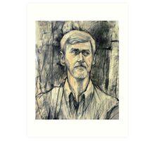 Portrait of Trevor Art Print
