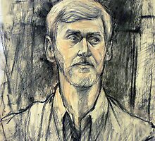 Portrait of Trevor by Roz McQuillan
