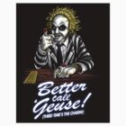 Better Call 'Geuse! STICKER! by Punksthetic