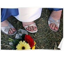 Wedding Toes Poster