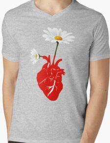 A Growing Heart Mens V-Neck T-Shirt