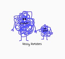Messy Monsters Tee Womens Fitted T-Shirt