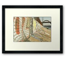 LA River Graffiti Framed Print