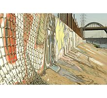 LA River Graffiti Photographic Print
