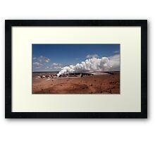 Halemau'ma'u Crater .2 Framed Print