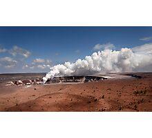 Halemau'ma'u Crater .2 Photographic Print