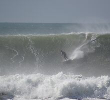 big surf Brunswick Heads NSW by sunranger