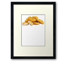 Chicken Nuggets Framed Print
