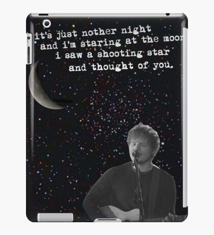 all of the stars iPad Case/Skin