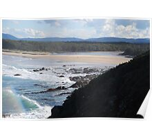 Saltwater National Park NSW Poster