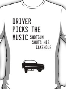Diver picks the music T-Shirt