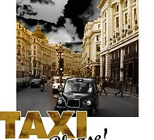 London taxi by picanro