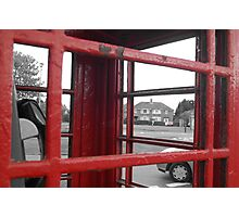 phonebox Photographic Print