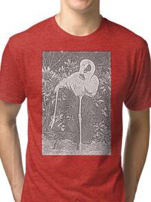 Yoga Flamingo Tri-blend T-Shirt