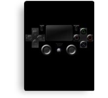 Playstation 4 Game Controller Canvas Print