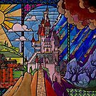 Beauty and the Beast - Stained Glass Castle by Serdd