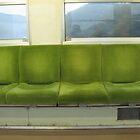 Train Chairs by Tomoe Nakamura