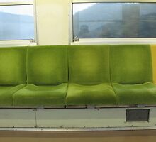 Train Chairs by Tomoe Nakamura