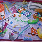 Art Table 1 by nancy salamouny