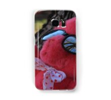 Pink Bear Relaxing Samsung Galaxy Case/Skin