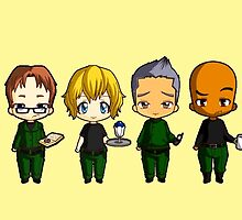 Chibi Stargate - Original Team Seasons 1-5 by colsamcarter