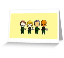Chibi Stargate - Original Team Seasons 1-5 Greeting Card