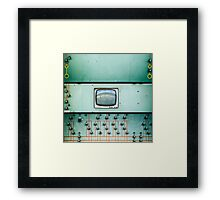 control screen Framed Print