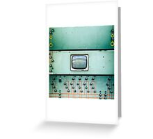 control screen Greeting Card