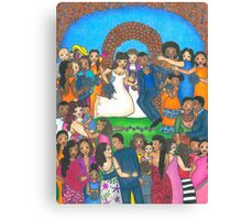 Jumping the Broom Canvas Print