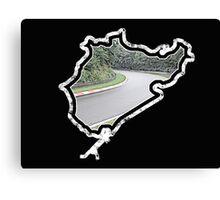 Nurburgring Motor Racing Track (Plain) Canvas Print