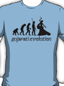 Gujarati Evolution Female T-Shirt
