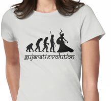 Gujarati Evolution Female Womens Fitted T-Shirt