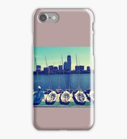 Charles River Boats iPhone Case/Skin