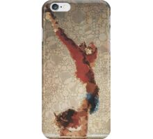 Yoga art 3 iPhone Case/Skin