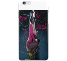 Turnt to the Dark Side iPhone Case/Skin