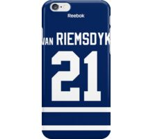 Toronto Maple Leafs James van Riemsdyk Jersey Back Phone Case iPhone Case/Skin
