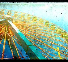 Vintage Wheel by Sarah Lipow