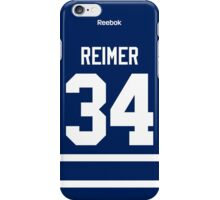 Toronto Maple Leafs James Reimer Jersey Back Phone Case iPhone Case/Skin