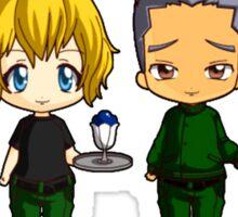 Chibi Stargate - Season 6 Team Sticker