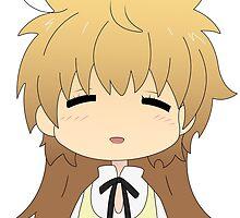 """Yachiyo """"Chief"""" Todoroki Minimal Chibi by thebigbrit"""