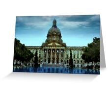 Alberta Legislature Greeting Card