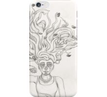 Day of the dead girl iPhone Case/Skin